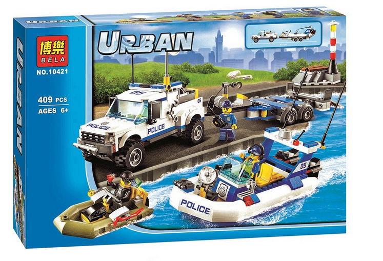 เลโก้จีน Bela 10421 ชุด Urban ตำรวจ