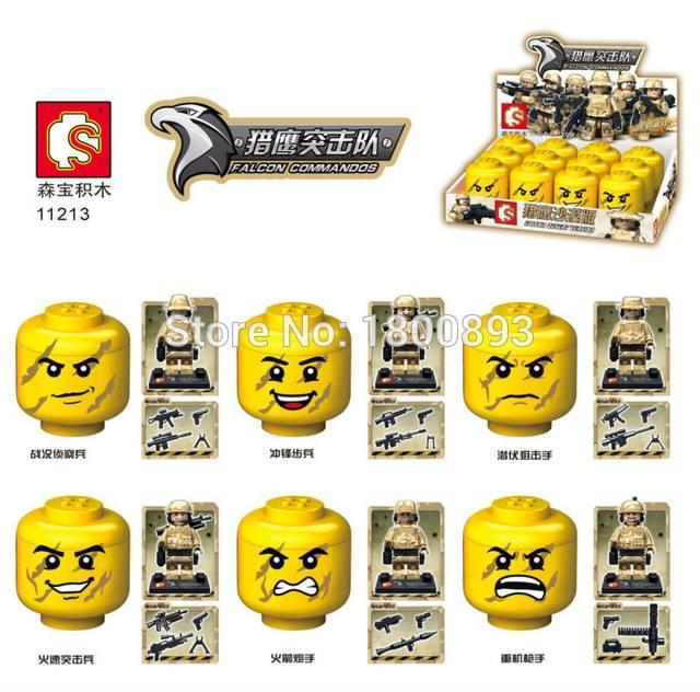 เลโก้จีน New SY 11213 ชุด Falcon Commandos