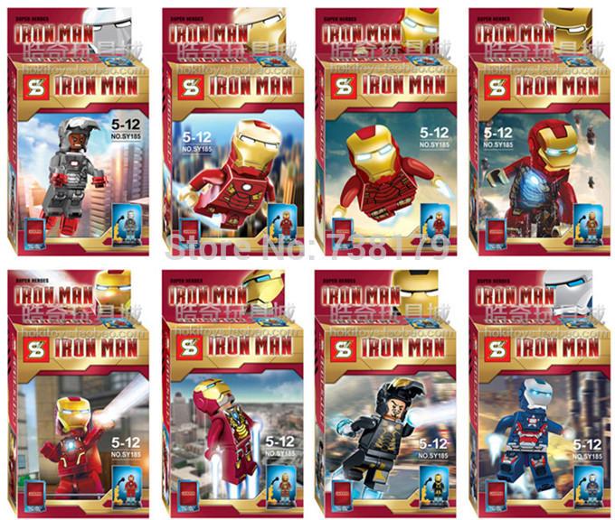 เลโก้จีน SY185 super heroes ironman