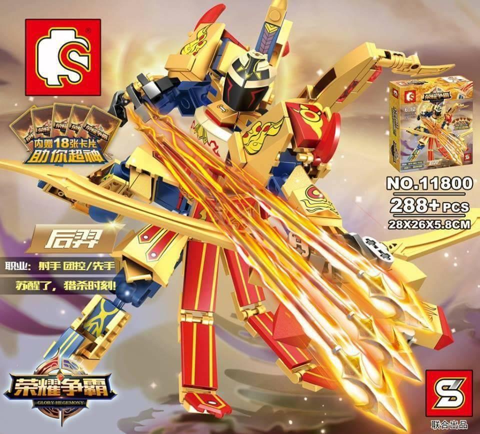 เลโก้จีน SY.11800 ชุด Glory Hegemony