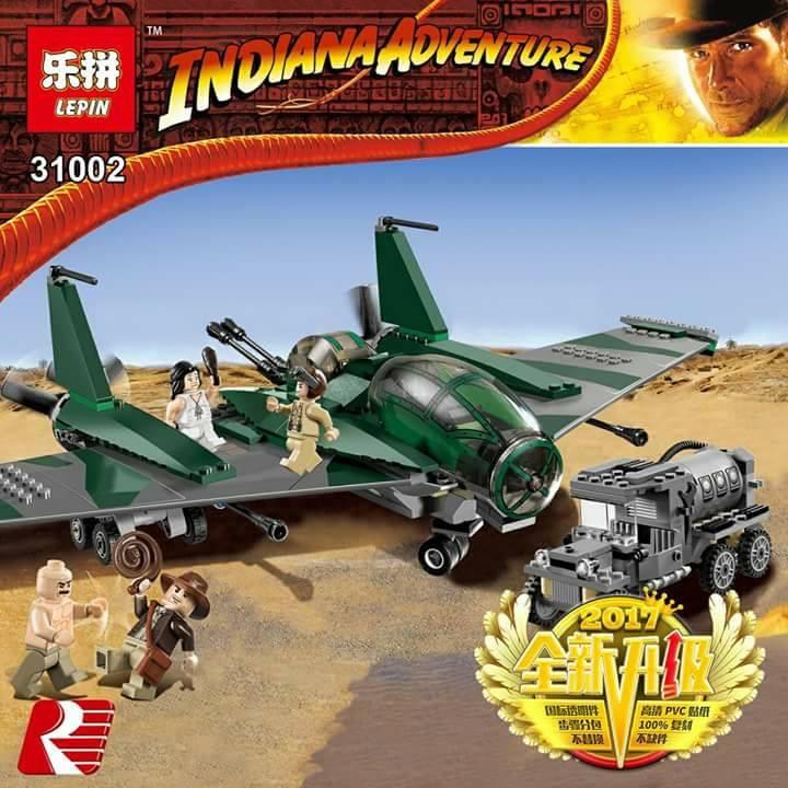 เลโก้จีน LEPIN.31002 ชุด Indiana Jones