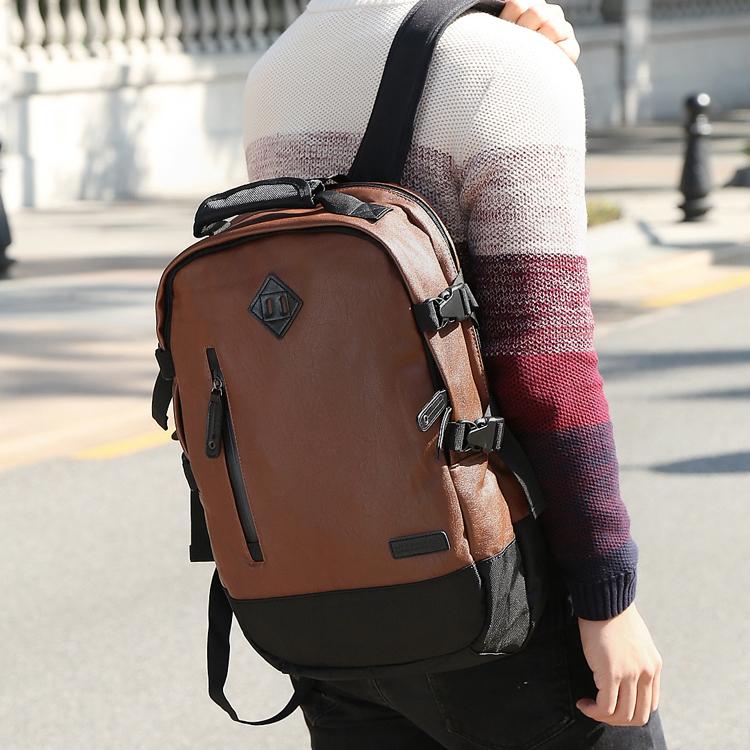 กระเป๋าเป้สะพายหลังสารพัดประโยชน์ สวย ทน เท่ห์ คุณภาพชั้นนำเป็นที่ยอมรับระดับสากล High-quality tide brand men's computer shoulder bag European and American style high-capacity travel bag backpack Japanese waterproof bag