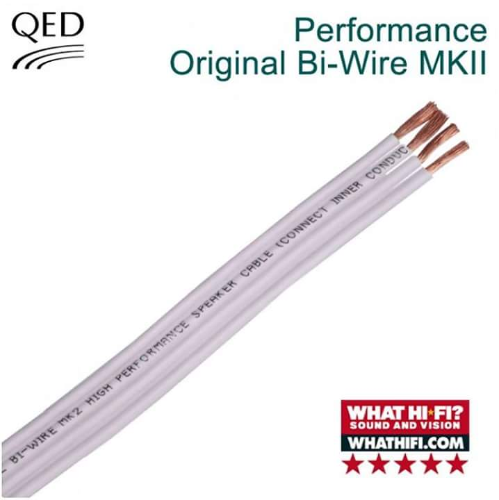 QED QBO/50 Original Bi-Wire