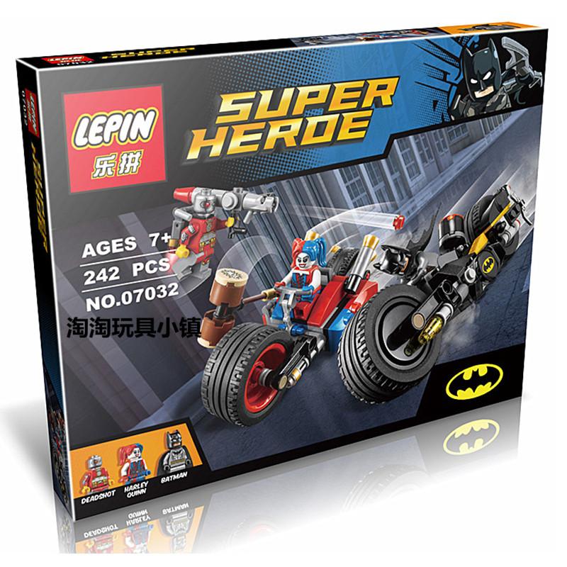 เลโก้จีน Lepin07032 ชุด Batman: Gotham City Cycle Chase