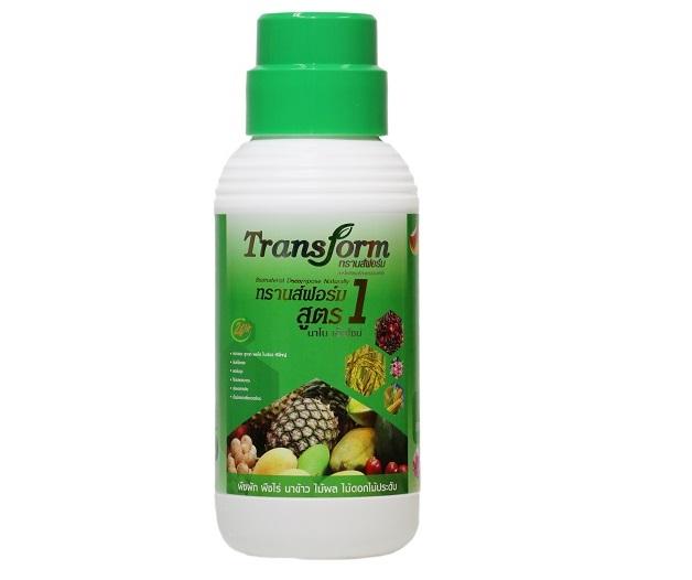 Transform สูตร 1 นาโน เอ๊นไซม์ (Nano Enzyme)