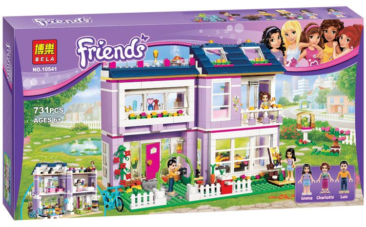 เลโก้จีน Bela.10541 ชุด Friends : Emma's House