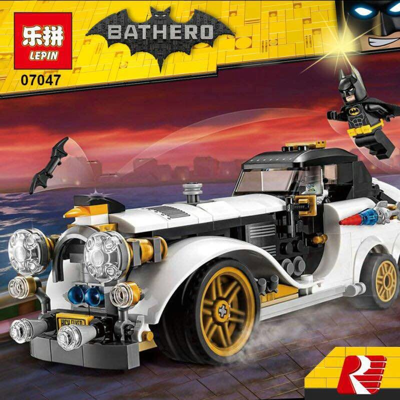 เลโก้จีน LEPIN.07047 ชุด Batman Movie The Penguin Arctic Roller