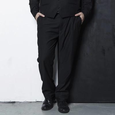 [พรีออเดอร์] กางเกงทำงานแฟชั่นเกาหลีผู้ชายไซต์ใหญ่ 2XL - 6XL ขายาว - [Preorder] Plus size Men ฺKorean Hitz 2XL - 6XL Long Trousers