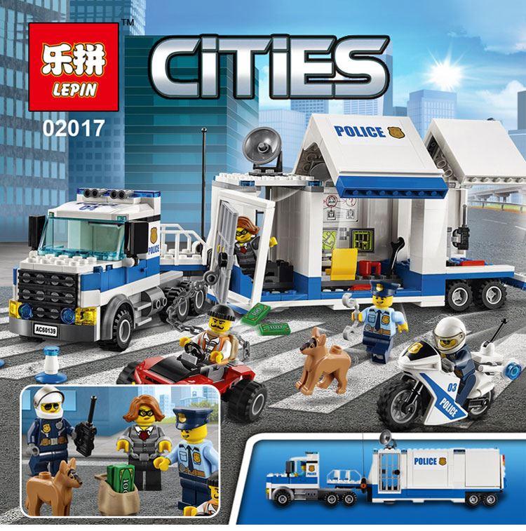 เลโก้จีน LEPIN.02017 ชุด Police Mobile Command center