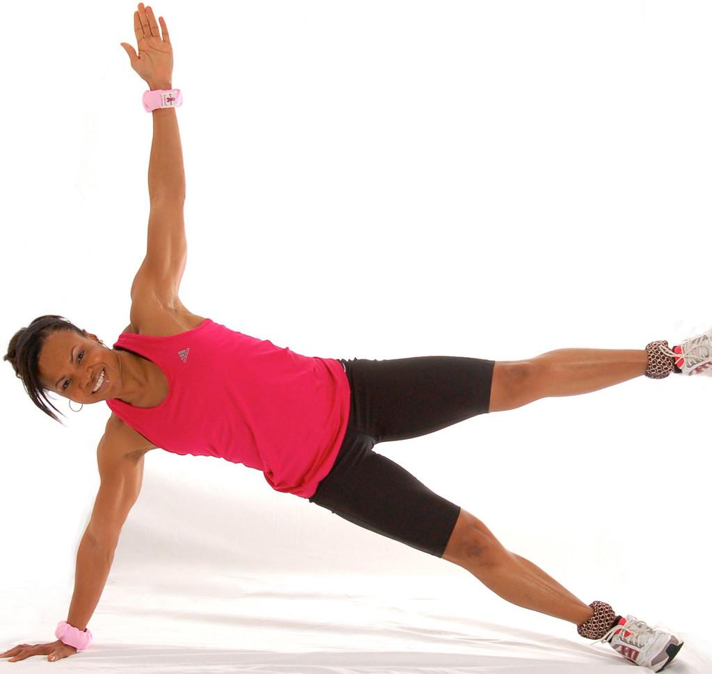 การใช้ wrist weight ชุดถ่วงน้ำหนักเต้นแอรโรบิค