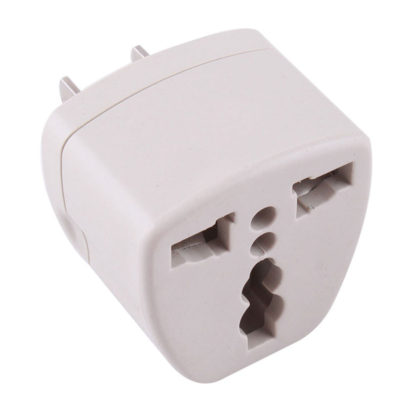 Universal EU UK AU to US USA AC Travel Power Plug Charger Adapter Converter