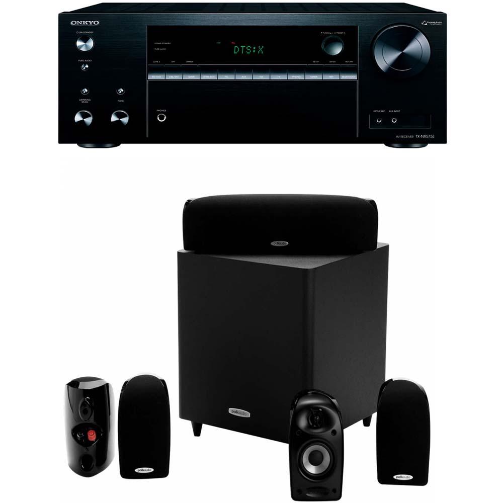 Onkyo TX-NR575E + Polk Audio TL1600