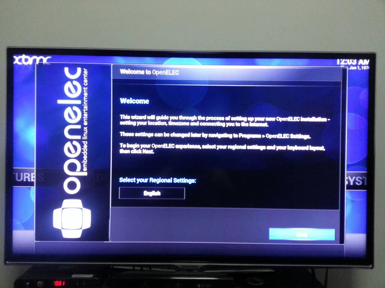 Welcome_Openelec