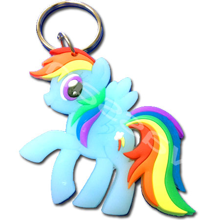 พวงกุญแจ My Little Pony - Rainbow Dash