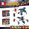 เลโก้จีน SY 383A,SY 383B ชุด heroes assemble