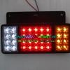 ไฟท้ายNPR6ล้อ หน้าหมากรุก LED 3ตอน 24v