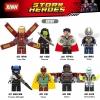 เลโก้จีน XINH.823-830 ชุด Super Heroes (สินค้ามือ 1 ไม่มีกล่อง)