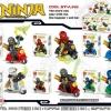 เลโก้จีน LELE31018 ชุด Ninja Go+สกู๊ตเตอร์