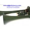 แตรลม ยี่ห้อSYK สีเขียว 2ปาก(ใช้ถังลม) ไฟ24v