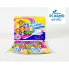 Plasmo สติ๊กเกอร์กันยุงไทย 2 ดวง (1 กล่อง/25 ซอง) ลายการ์ตูน กลิ่นลาเวนเดอร์