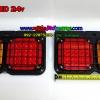 ไฟท้ายKT LED 24v(มีตะแกรงกันกระแทก)