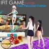 iFit แผ่นเกมออกกำลังกายในบ้าน 30in1 เกม เกมเต้น โยคะ แอโรบิค ใช้งานง่าย ต่อทีวีเล่นได้เลย พร้อมจอยเกมไร้สาย 1คู่