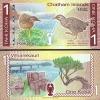 ธนบัตร หมู่เกาะชาทัม (Chatham Islands) 1 Koha พ.ศ. 2556 - 2557 ) หรือปี 2013-2014 UNC