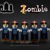 เลโก้จีน RZ.001 ชุด Chinese Zombie (สินค้ามือ 1 ไม่มีกล่อง)