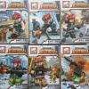 เลโก้จีน JX1053 ชุด Commandos หมวกแดง + หมา 6ตัว
