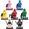 เลโก้จีน D.6012 ชุด Minifigure (สินค้ามือ 1 ไม่มีกล่อง)