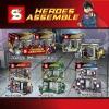เลโก้จีน SY223 A-D ชุด Hall of Armor Wave2