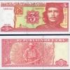 ธนบัตรประเทศ คิวบา ชนิดราคา 3 PESO (เปโซ) รุ่นปี พ.ศ.2522 (ค.ศ.1979)