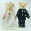 ตุ๊กตาหมีคู่รัก ขนาด 0.30 เมตร (แบบที่ 2)