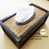 กล่องทิชชูไม้ไผ่สาน กล่องทิชชูไม้