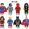 เลโก้จีน XINH.667-674 ชุด Super Heroes (สินค้ามือ 1 ไม่มีกล่อง)