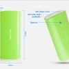 Power Bank 6000 mAh : Cube E06B