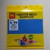 แผ่น Plate ขนาด 32*32 ปุ่ม สีน้ำเงิน LELE 79064 ชุด BasePlate