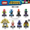 เลโก้จีน XINH 347-354 ชุด Super Heroes (สินค้ามือ 1 ไม่มีกล่อง)