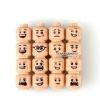 เลโก้จีน POGO.Men Face ชุด Minifigures Men Face (สินค้ามือ 1 ไม่มีกล่อง)