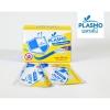 Plasmo สติ๊กเกอร์กันยุงไทย 2 ดวง (1 กล่อง/25 ซอง) ลายโล่ กลิ่นตะไคร้หอม