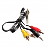 AV Cable Line For Raspberry Pi Generation 3.5mm Jack 67cm