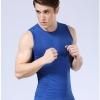 [พรีออเดอร์] เสื้อกล้ามกระชับสัดส่วนสำหรับใส่ออกกำลังกายได้ สำหรับผู้ชายแขนกุด - [Preorder] Abdomen Body Sculpture Sleeveless Fitness Vests for Men