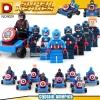 เลโก้จีน DLP9029 ชุด Captain America