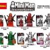 เลโก้จีน Decool.0256-0261 ชุด Deadpool