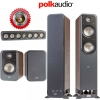 Polk Audio Signature S55 + S20 + S35 Walnut