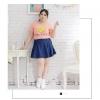 [พรีออเดอร์] เสื้อยืดแฟชั่นเกาหลี ไซส์ใหญ่ คอกลม พิมพ์ลายน่ารัก แขนสั้น - [Preorder] Plus Size Women Korean Hitz Cute Printed Round Neck Short-sleeved Female T-Shirt