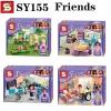 เลโก้จีน SY 155 ชุด Friends