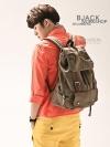 Back pack(กระเป๋าเป้ สะพายหลัง) BA006 สีน้ำตาล พร้อมส่ง