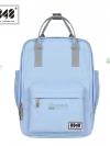 8848 Back pack(กระเป๋าเป้ สะพายหลัง) BA043 สี พาสเทล ฟ้าอ่อน พร้อมส่ง