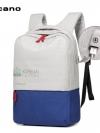Back pack(กระเป๋าเป้ สะพายหลัง) BA071 สีน้ำเงิน พร้อมส่ง